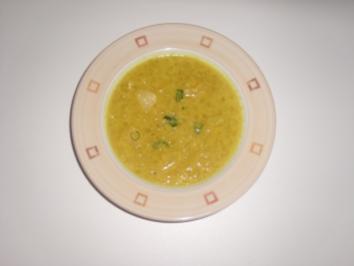 Fruchtig, pikante Currysuppe - Rezept
