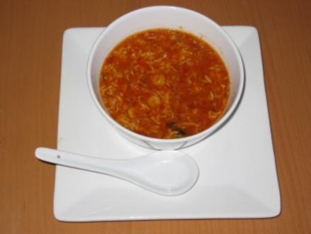 Peking Gulasch Suppe - Rezept