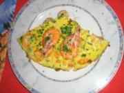 Crevetten in Fritata - Rezept