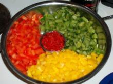 Salsa de Tomate con Pimientas - Rezept