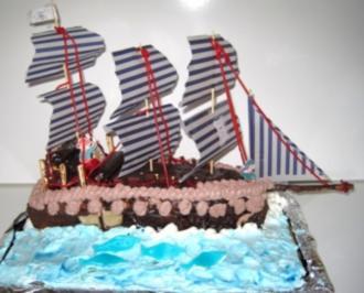 Piratenschiff Zum Geburtstag Fur Tjark Rezept Mit Bild Kochbar De