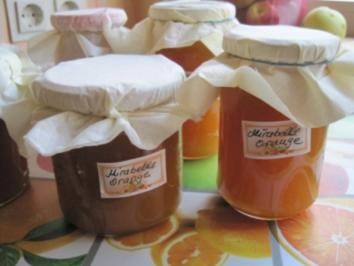Mirabellen-Orangen Marmelade - Rezept