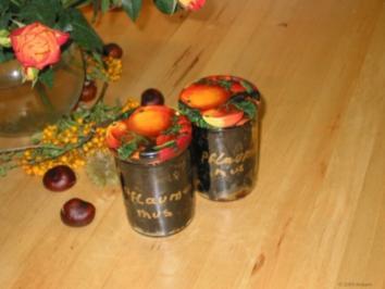 Gewürzmus, Zwetschgen und Äpfel - Rezept