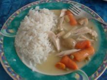 Hühner-Ragout - Rezept