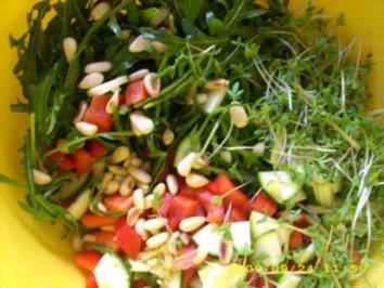 Salat a`la Laura - Rezept