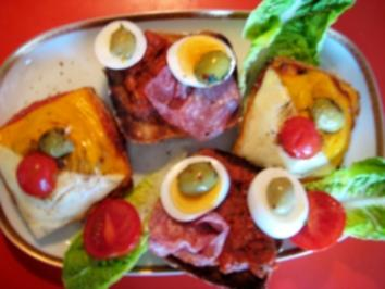 """raffiniertes"" lecker,saftiges Dinkel Brötchen ""á la Pizza"" - Rezept"