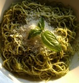 Trenette mit Pesto - Rezept