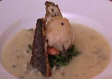 Muschelsüppchen mit See-Einlage - Rezept - Bild Nr. 9