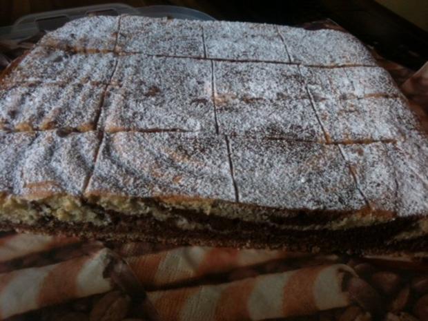 Kuchen Zebrakuchen Vom Blech Rezept Mit Bild Kochbar De