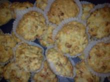Tomate-Mozzarella Muffins - Rezept