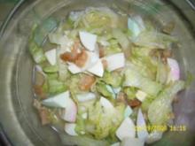 Eisberg-Salat mit Speck - Rezept