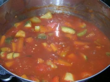 Afrikanischer Fleisch-Gemüse Eintopf - Rezept