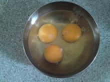 Omelett mit Krabbensauce - Rezept