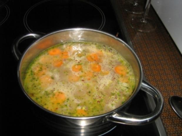 Roulade mit Pfifferlingen auf Karottengemüse - Rezept - Bild Nr. 9