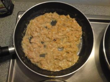 Rezept: Schweinekotelett mit Pfifferlingsauce auf Lasagnette