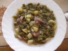 Bohneneintopf mit Lammfleisch - Rezept