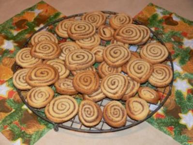 Plätzchen: Zimtschnecken - Rezept