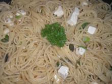 Pasta  aglio e olio,  wie ich sie mag - Rezept