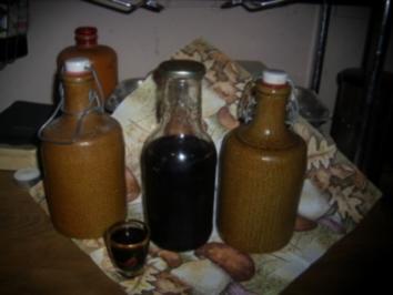 Rezept: Liköre: Holunder-Honig-Likör