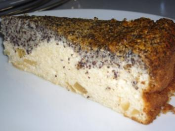Kikis Mohn-Käse-Torte - Rezept