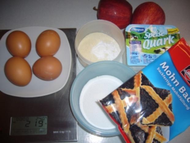 Kikis Mohn-Käse-Torte - Rezept - Bild Nr. 2