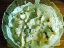 Obstsalat mit Joghurtdressing - Rezept