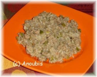 Hackfleischgericht - Dirty Rice - Schmutziger Reis - Rezept