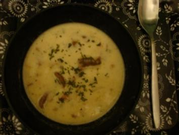 Rezept: Pfifferlingsuppe