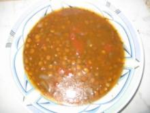 Linsen-Suppe griechischer Art - Rezept