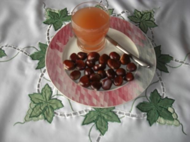 Inges Herbstmenü - Maronen und Federweiser (neuer Wein) - Rezept