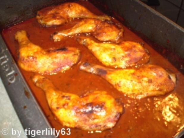 Paprika-Hähnchen - Rezept
