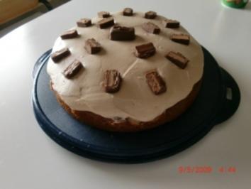 Mars-Birnen Torte - Rezept