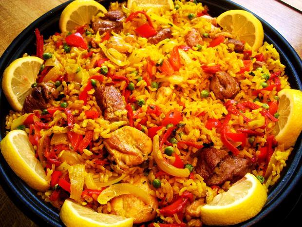 Fleisch-Paella - Rezept - Bild Nr. 4331