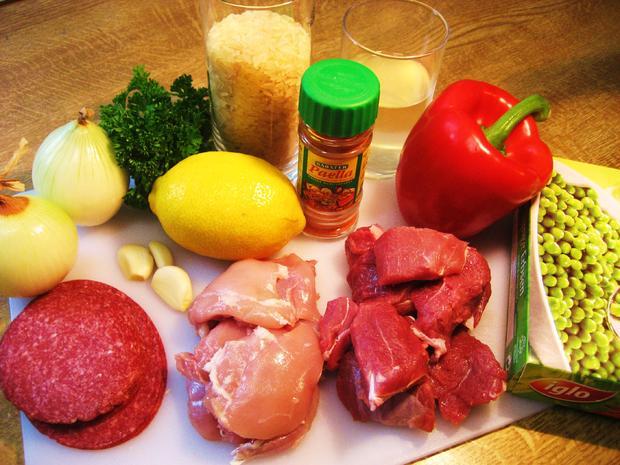 Fleisch-Paella - Rezept - Bild Nr. 4332