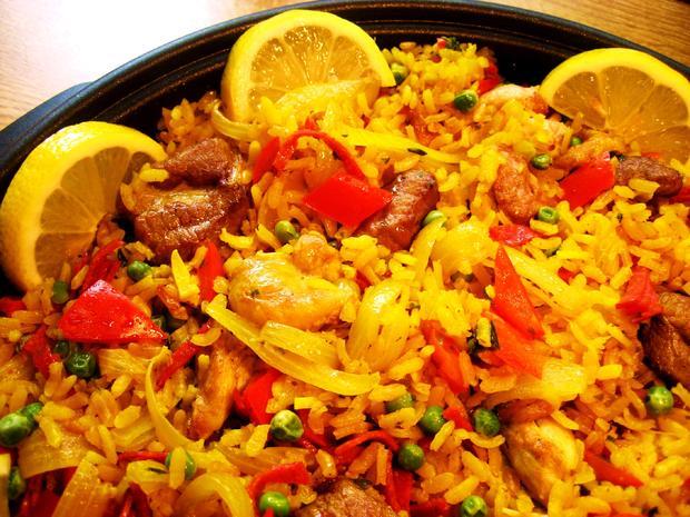 Fleisch-Paella - Rezept - Bild Nr. 4336