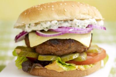 Bunter Bauernburger (Lieblingsgericht von Bauer Carsten) - Rezept