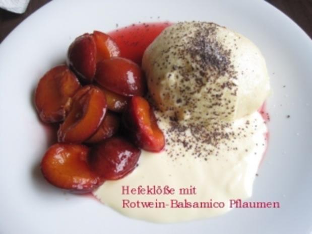 Bühler Zwetschgen in Rotwein-Balsamico - Rezept - Bild Nr. 3