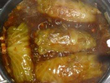 Kohlroulade mit Salzkartoffeln - Rezept
