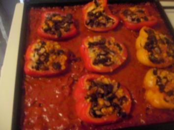 Rote Bohnen in Paprika - Rezept