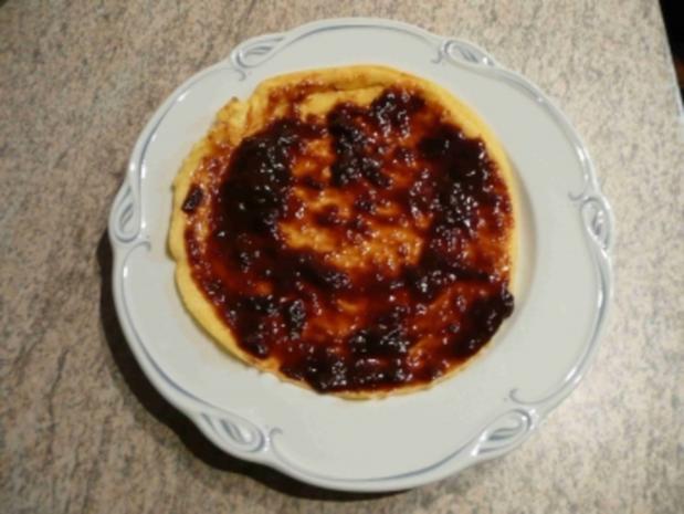 Eierspeisen : Pfannkuchen mit Pflaumenmus - Rezept - Bild Nr. 2