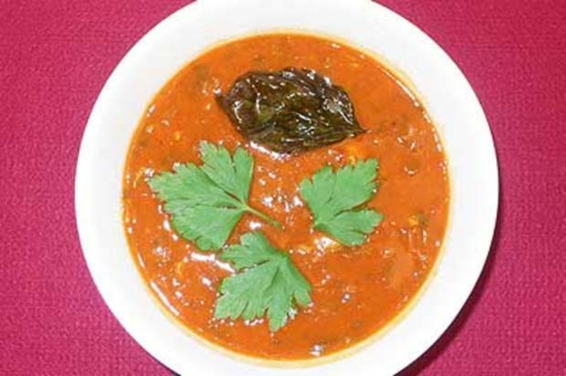 Marokkanische Fastensuppe - Harira - Rezept