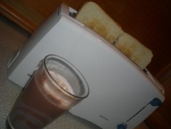 heiße Getränke: cremige Schokolade - Rezept