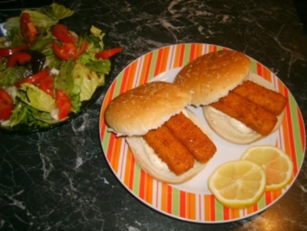 Schnelle Fischburger - Rezept - Bild Nr. 3