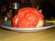 Halloween Blumenkohl ( oder Gehirn ) - Rezept