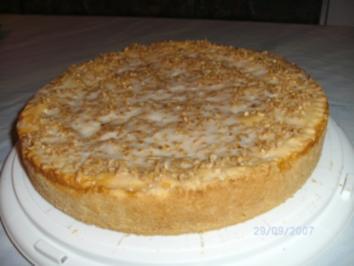 Gedeckter Apfelkuchen ....mit Rumäpfel - Rezept