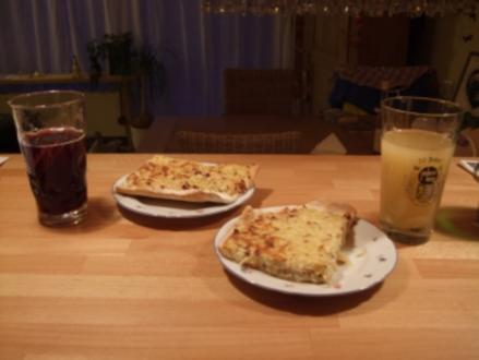Pfälzer Zwiebelkuchen - Rezept