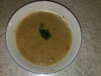Topinambur-Suppe - Rezept