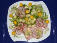 Herbstsalat für die Sinne - Rezept