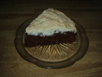 Kuchen mit Kokoshaube - Rezept