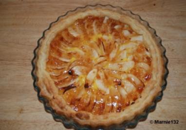 Apfel-Tarte auf spanische Art - Rezept
